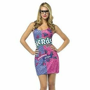 Women's Nerds Candy Costume Tank mini Dress